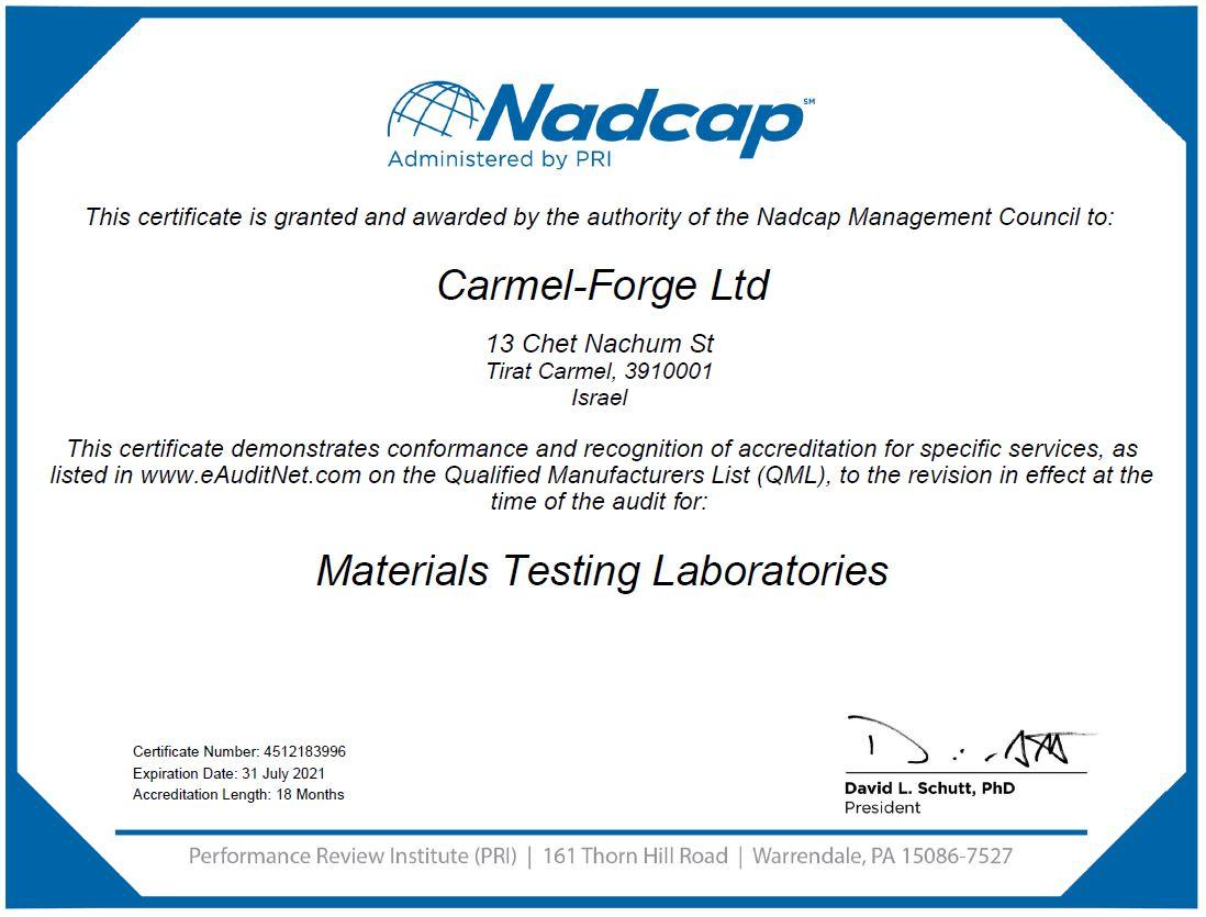 Certificate MTL 31.7.2021