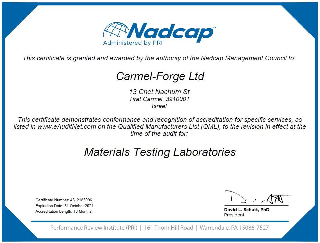 Certificate Scope MTL - Exp. 31.10.2021